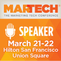 I am speaking at MarTech