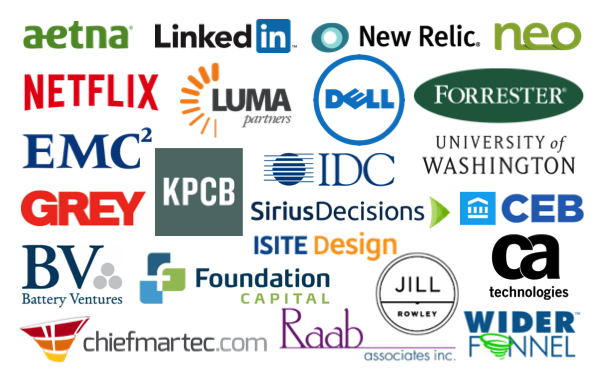 Check Out The Martech 2015 Speakers A Who S Who Of Brands