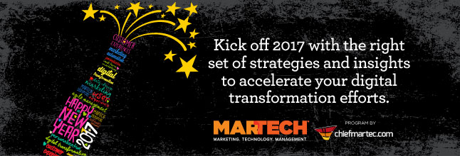 MarTech Conference Happy New Year