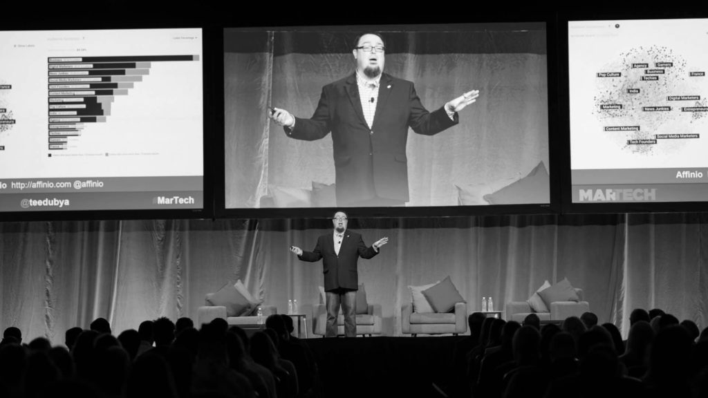 Who's storming the stage at MarTech?