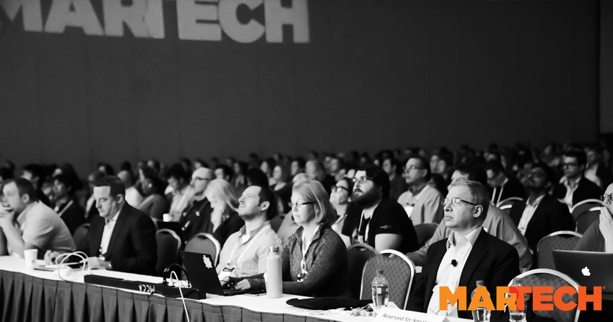 The MarTech® Conference | September 16-18, 2019 | Boston, MA